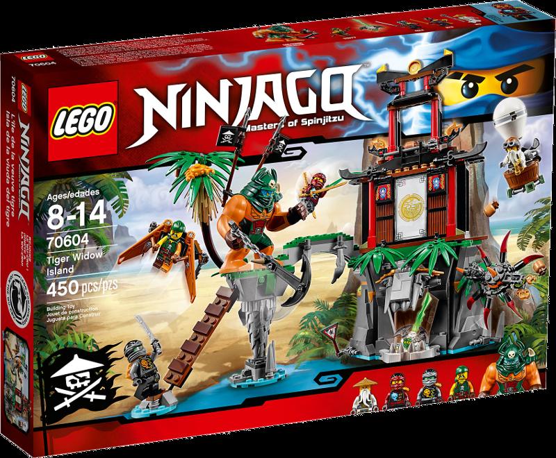 LEGO® NINJAGO® 70604 - Schwarze Witwen-Insel