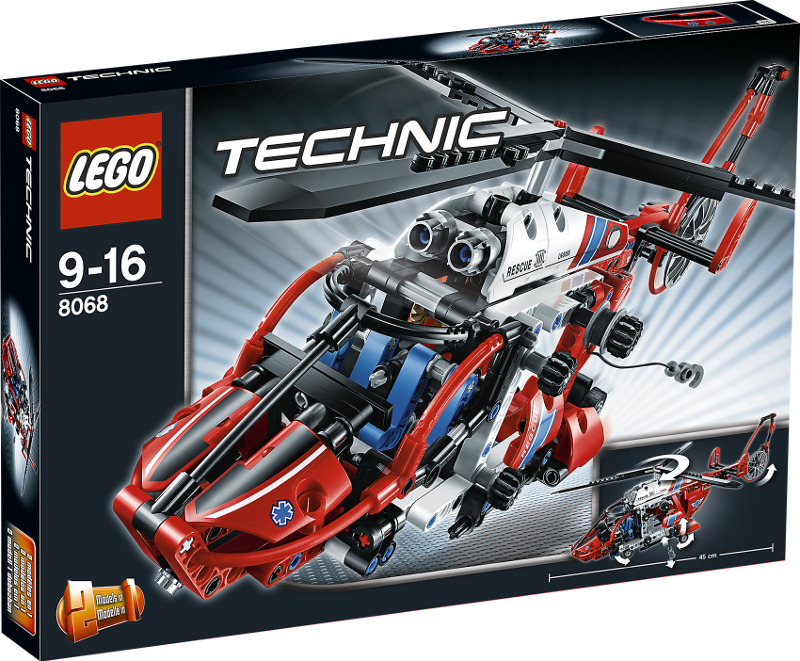 LEGO® Technic 8068 - Rettungshubschrauber