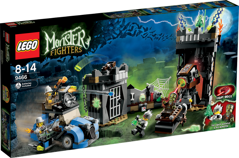 LEGO® Monster Fighters 9466 - Labor des verrückten Wissenschaftlers