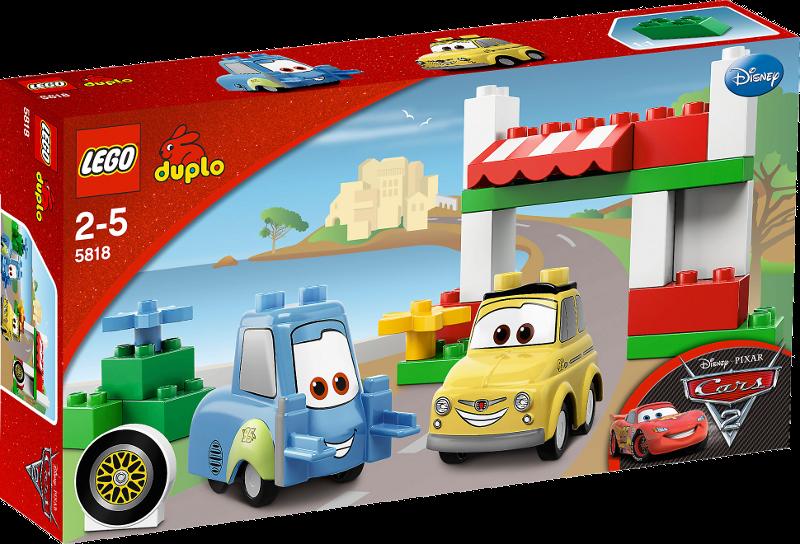 LEGO® DUPLO® Cars 5818 - Unterwegs mit Luigi und Guido