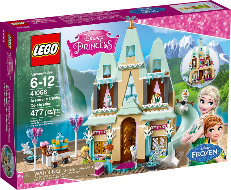 LEGO® Disney Princess 41068 - Fest im großen Schloss von Arendelle