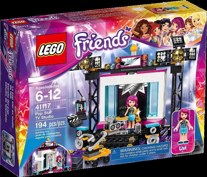 LEGO® Friends 41117 - Popstar TV-Studio