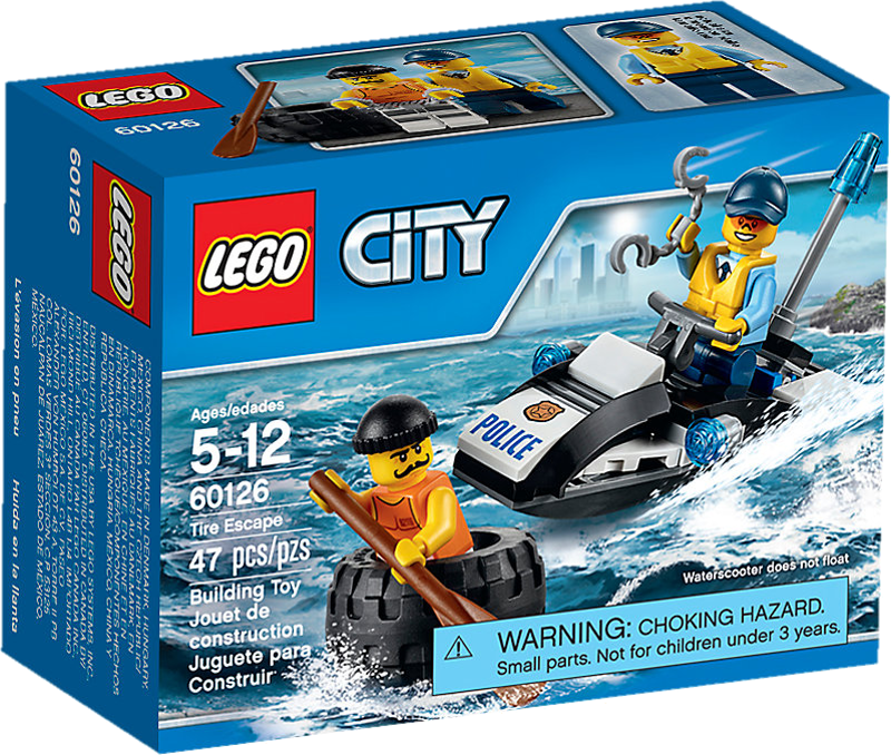 LEGO® City 60126 - Flucht per Reifen