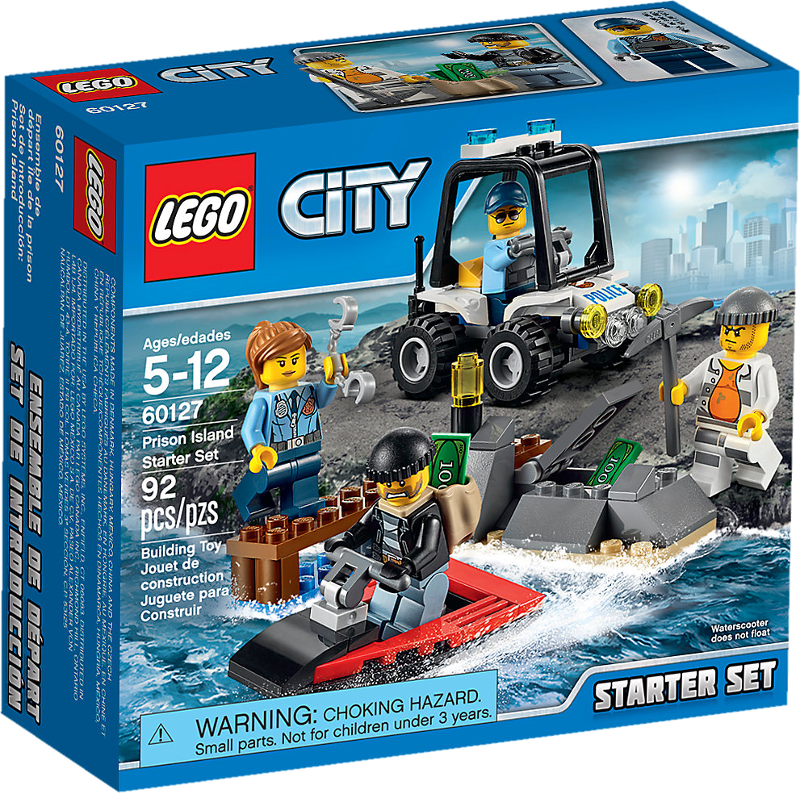 LEGO® City 60127 - Gefängnisinsel-Polizei Starter-Set