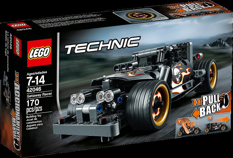 LEGO® Technic 42046 - Fluchtfahrzeug