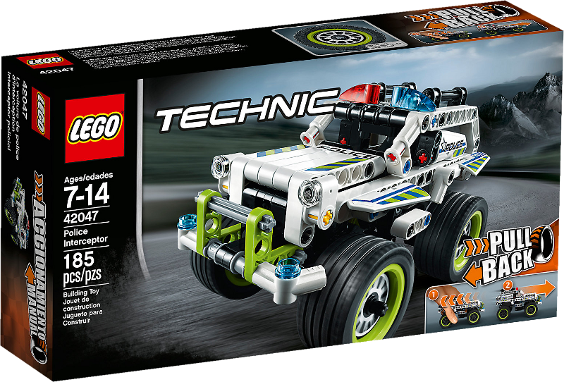 LEGO® Technic 42047 - Polizei-Interceptor
