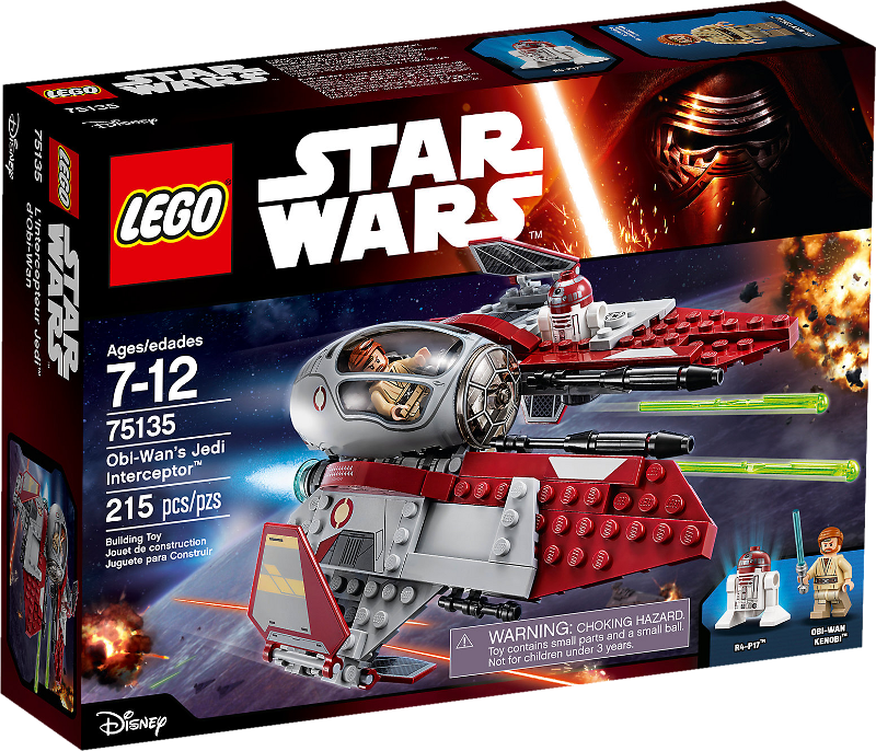 LEGO® Star Wars 75135 - Obi-Wan's Jedi Interceptor™