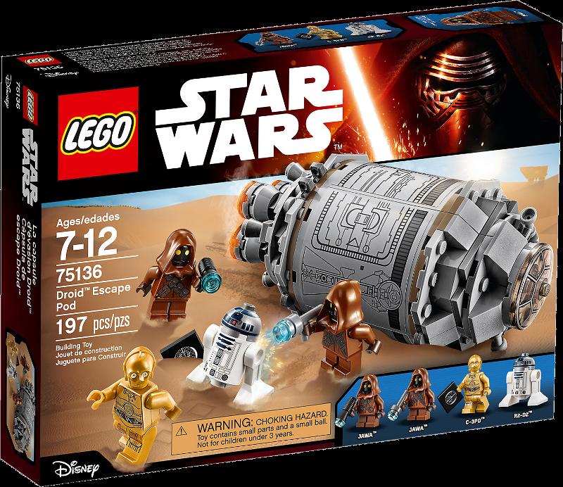 LEGO® Star Wars 75136 Droid™ Escape Pod