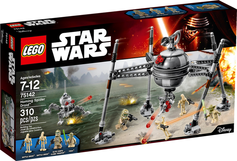 LEGO® Star Wars 75142 - Homing Spider Droid™