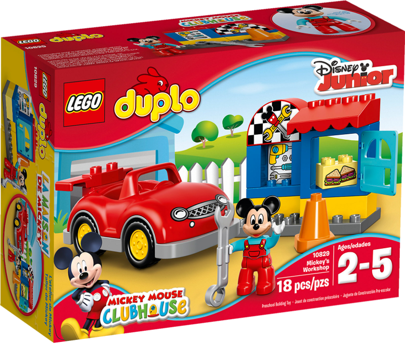 LEGO® DUPLO® 10829 - Mickys Werkstatt