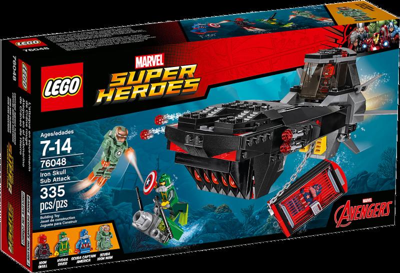 LEGO® Super Heroes 76048 - U-Boot Überfall von Iron Skull