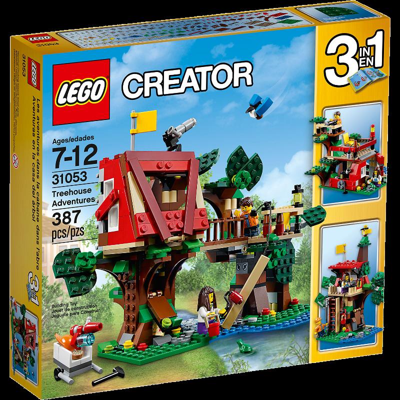 LEGO® Creator 31053 - Baumhausabenteuer