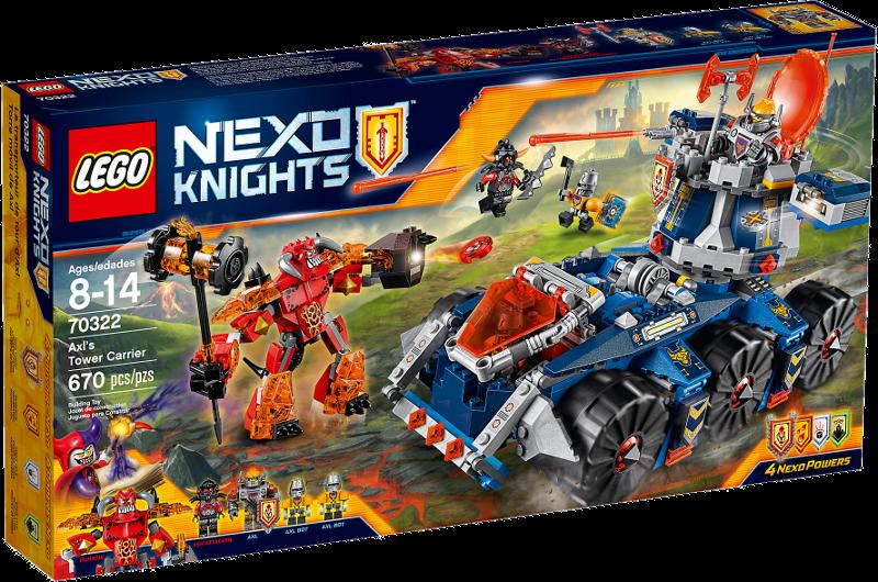 LEGO® NEXO KNIGHTS™ 70322 - Axls mobiler Verteidigungsturm