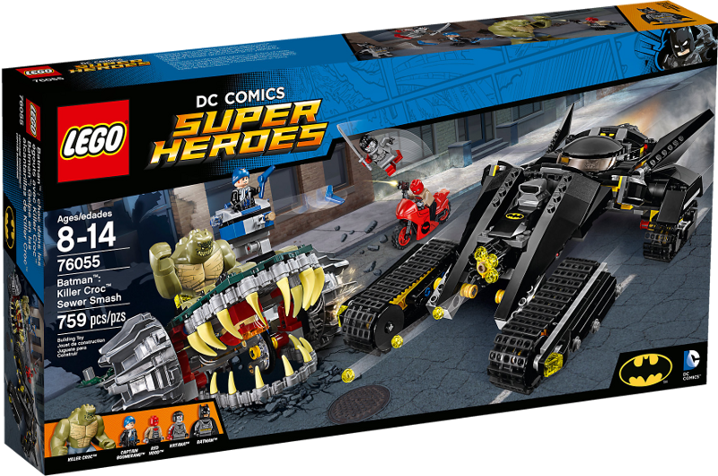 LEGO® Super Heroes 76055 - Batman™: Killer Crocs™ Überfall in der Kanalisation