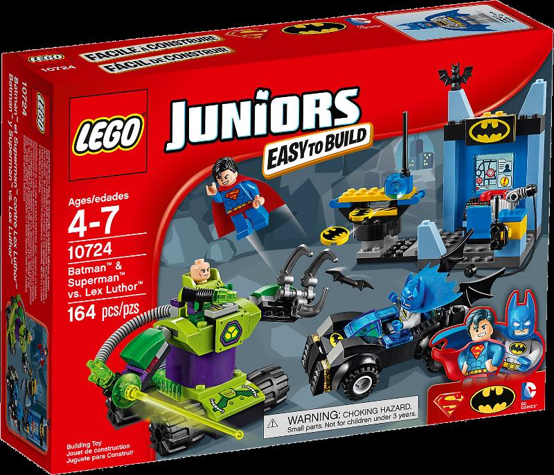 LEGO® Juniors 10724 - Batman™ & Superman™ gegen Lex Luthor™