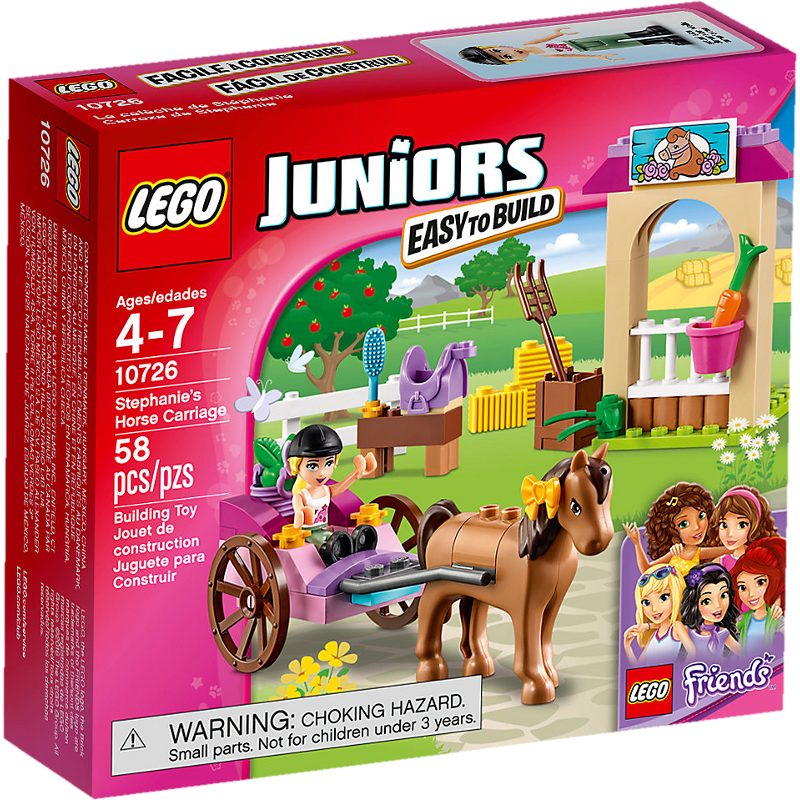 LEGO® Juniors 10726 - Stephanies Pferdekutsche