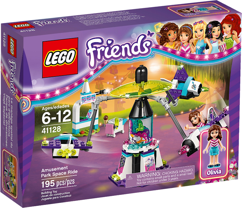 LEGO® Friends 41128 - Raketen-Karussell