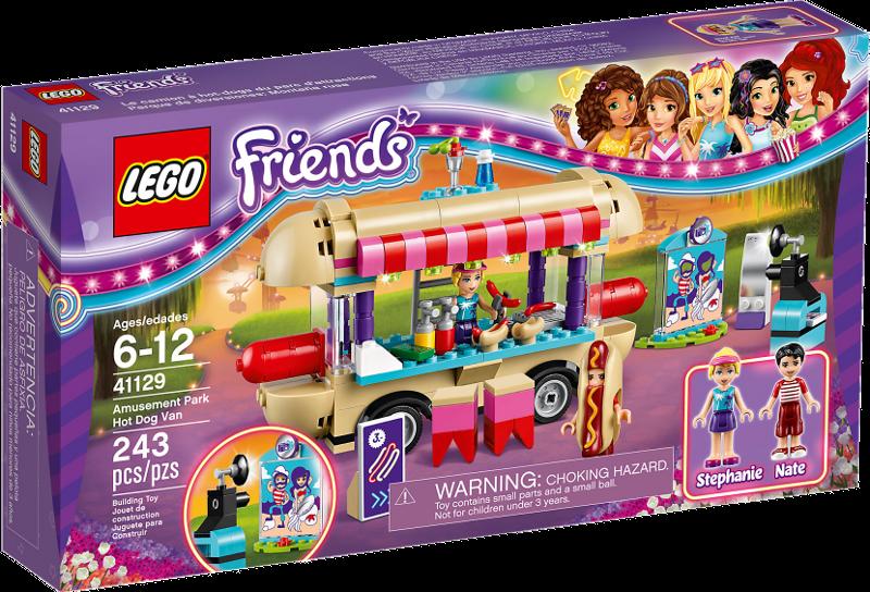 LEGO® Friends 41129 - Hot-Dog-Stand im Freizeitpark