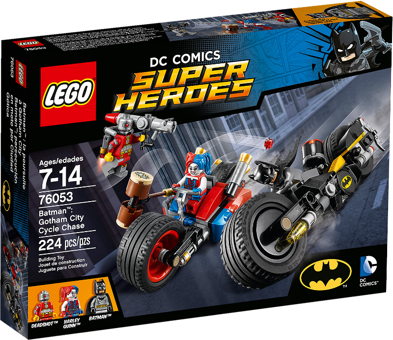 LEGO® Super Heroes 76053 - Batcycle-Verfolgungsjagd in Gotham City