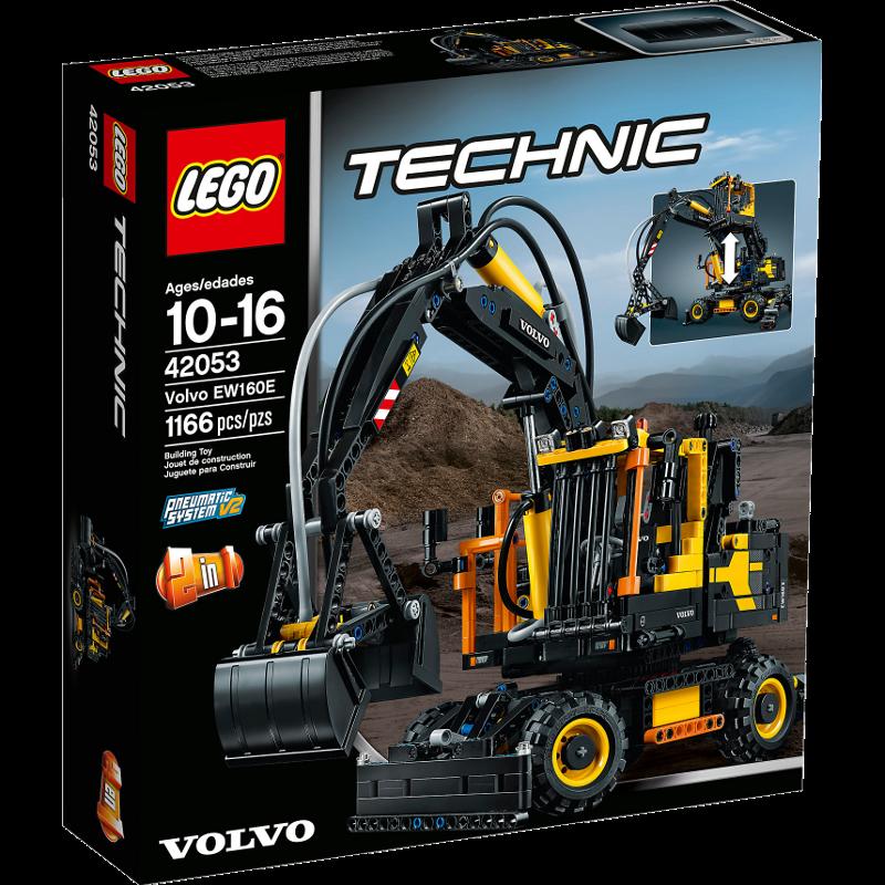 LEGO® Technic 42053 - Volvo EW160E