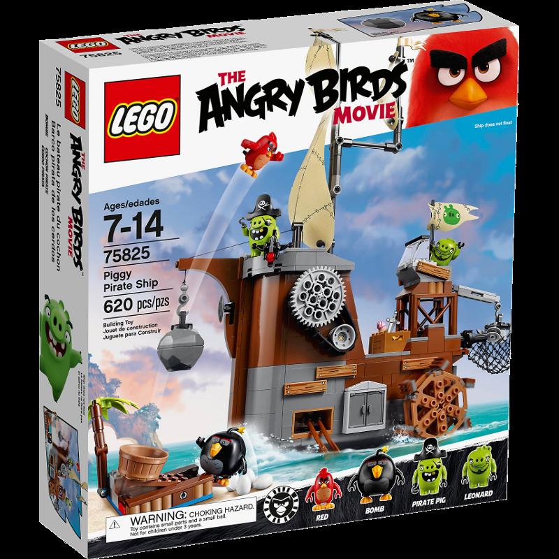 LEGO® Angry Birds 75825 - Piggy Pirate Ship