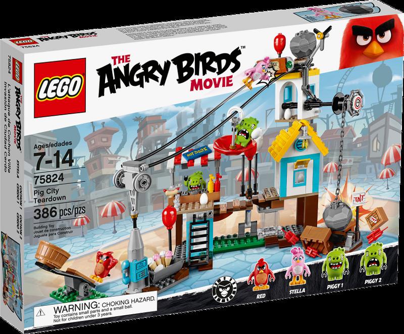 LEGO® Angry Birds 75824 - Pig City Teardown