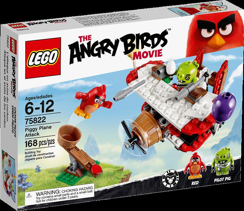 LEGO® Angry Birds 75822 - Piggy Plane Attack