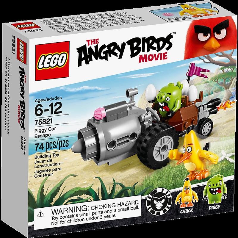 LEGO® Angry Birds 75821 - Piggy Car Escape
