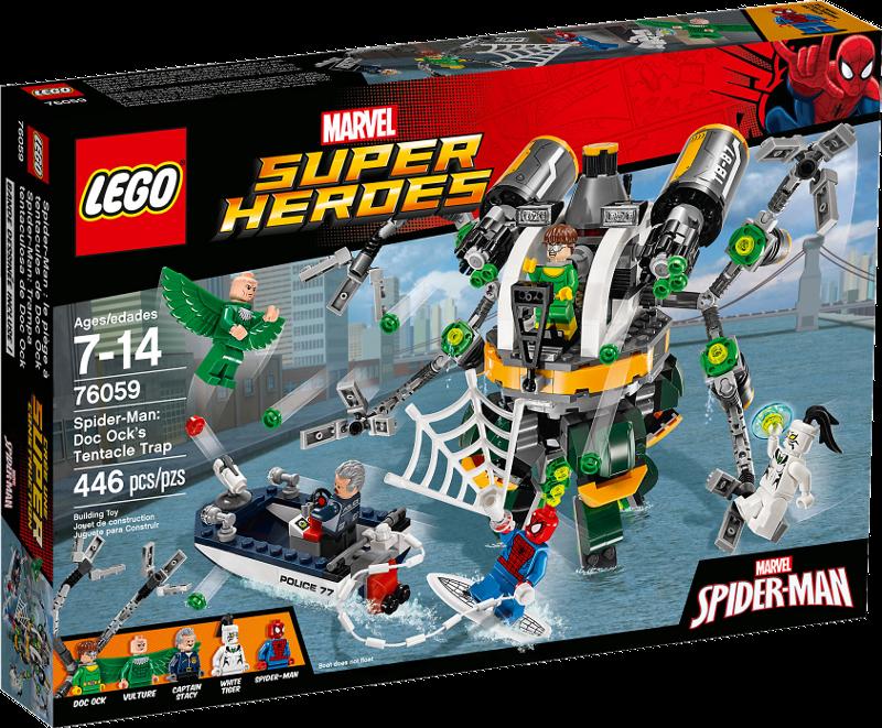 LEGO® Super Heroes 76059 - Spider-Man: Doc Ocks Tentakelfalle