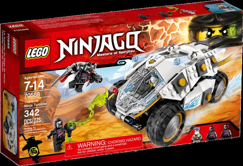 LEGO® NINJAGO® 70588 - Titan-Ninjamobil