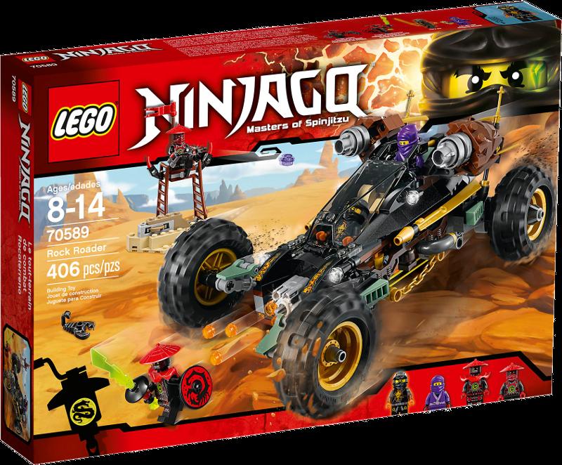 LEGO® NINJAGO® 70589 - Felsen-Buggy