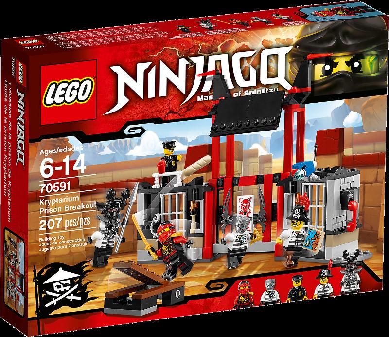LEGO® NINJAGO® 70591 - Kryptarium-Gefängnisausbruch