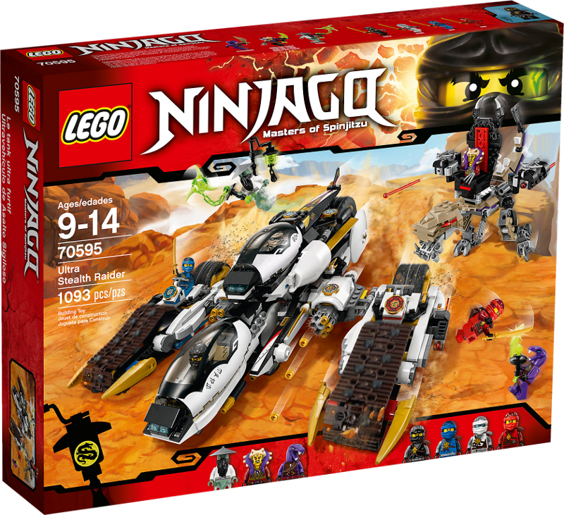 LEGO® NINJAGO® 70595 - Ultra-Tarnkappen-Fahrzeug