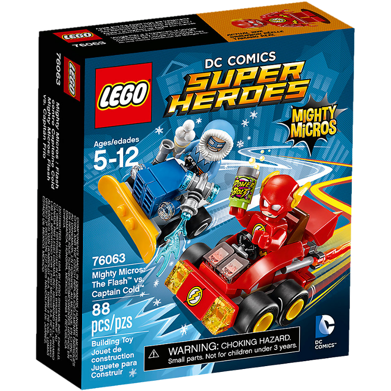 LEGO® Super Heroes 76063 - The Flash vs. Captain Cold