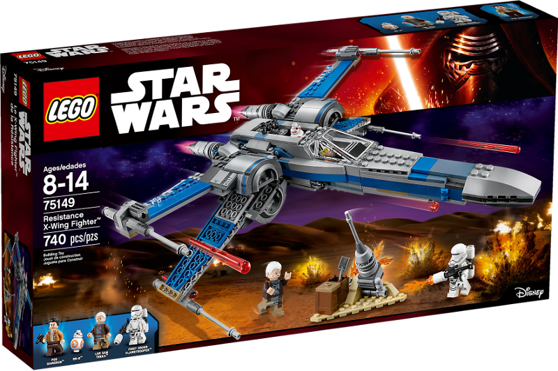 LEGO® Star Wars 75149 - Resistance X-Wing Fighter™