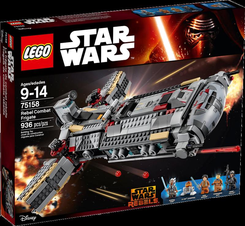 LEGO® Star Wars 75158 - Rebel Combat Frigate