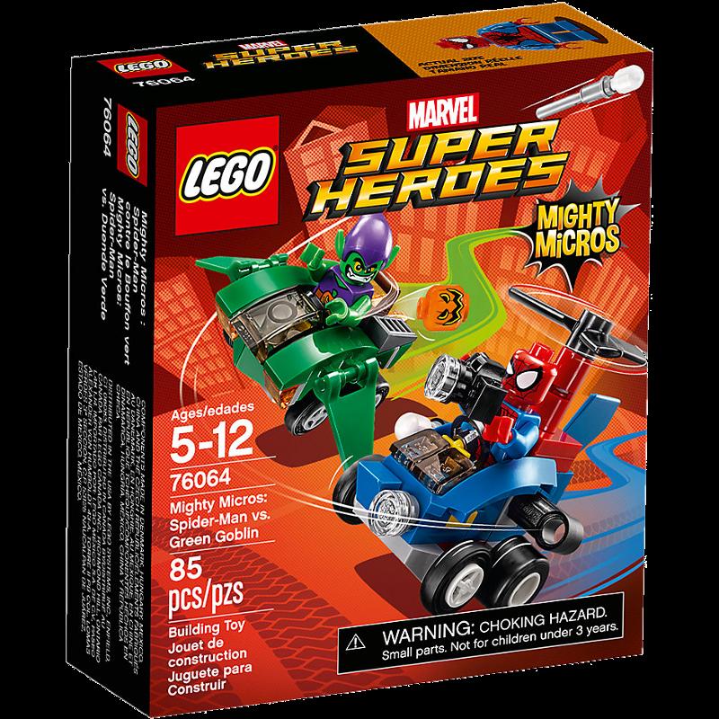 LEGO® Super Heroes 76064 - Spider-Man vs. Green Goblin