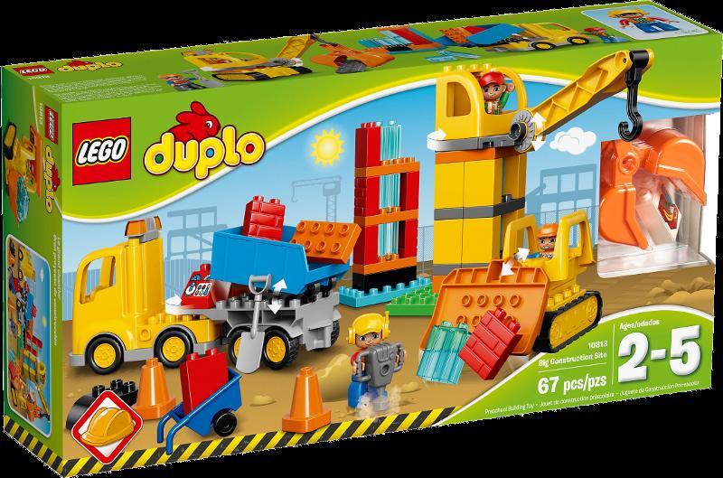 LEGO® DUPLO® 10813 - Große Baustelle