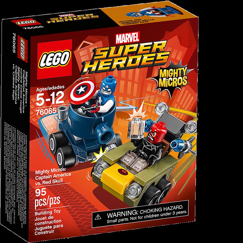LEGO® Super Heroes 76065 - Captain America vs. Red Skull