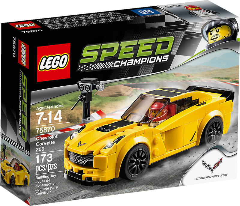 LEGO® Speed Champions 75870 - Chevrolet Corvette Z06
