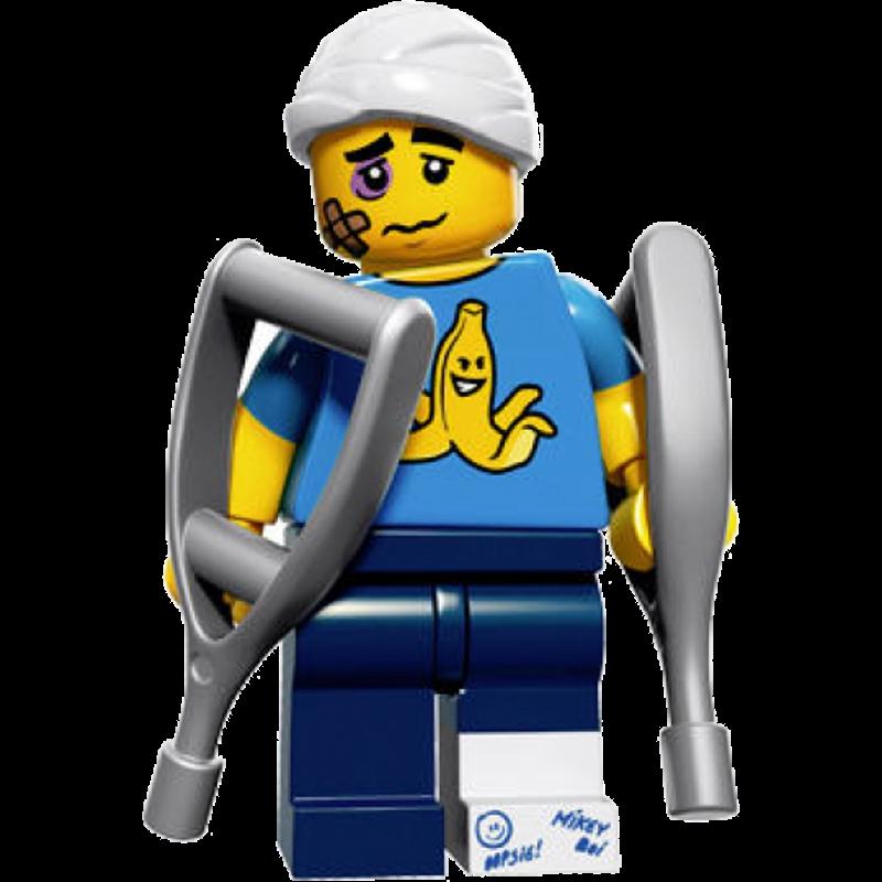 LEGO® Minifigures Serie 15 71011-11 - Tollpatsch