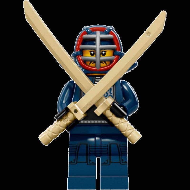 LEGO® Minifigures Serie 15 71011-12 - Kendo-Kämpfer