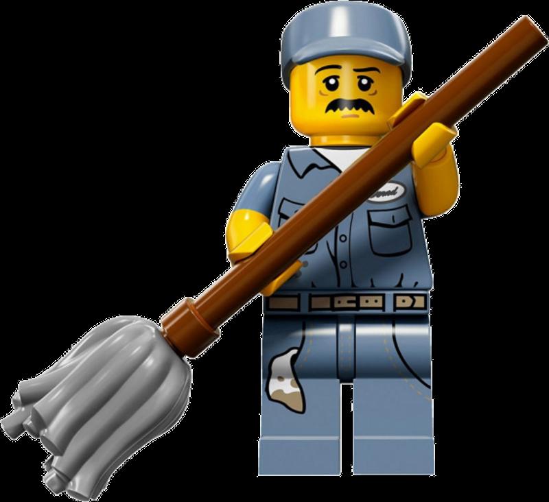 LEGO® Minifigures Serie 15 71011-15 - Hausmeister