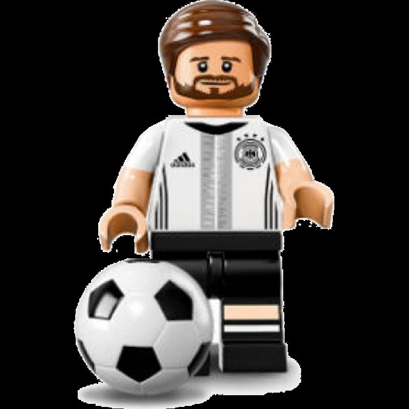 "LEGO® DFB ""Die Mannschaft"" Minifigures 71014-2 - Shkodran Mustafi"