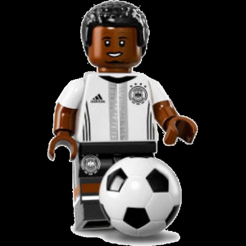 """LEGO® DFB """"Die Mannschaft"""" Minifigures 71014-17 - Jérôme Boateng"""