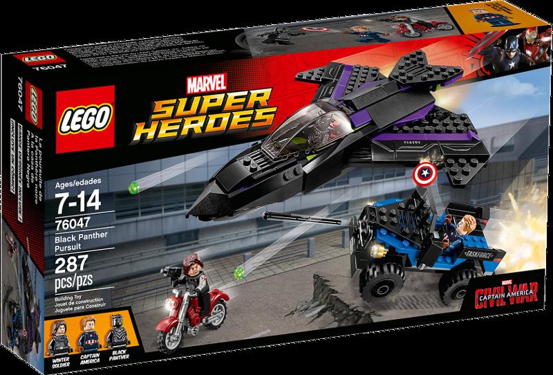 LEGO® Super Heroes 76047 - Jagd auf Black Panther