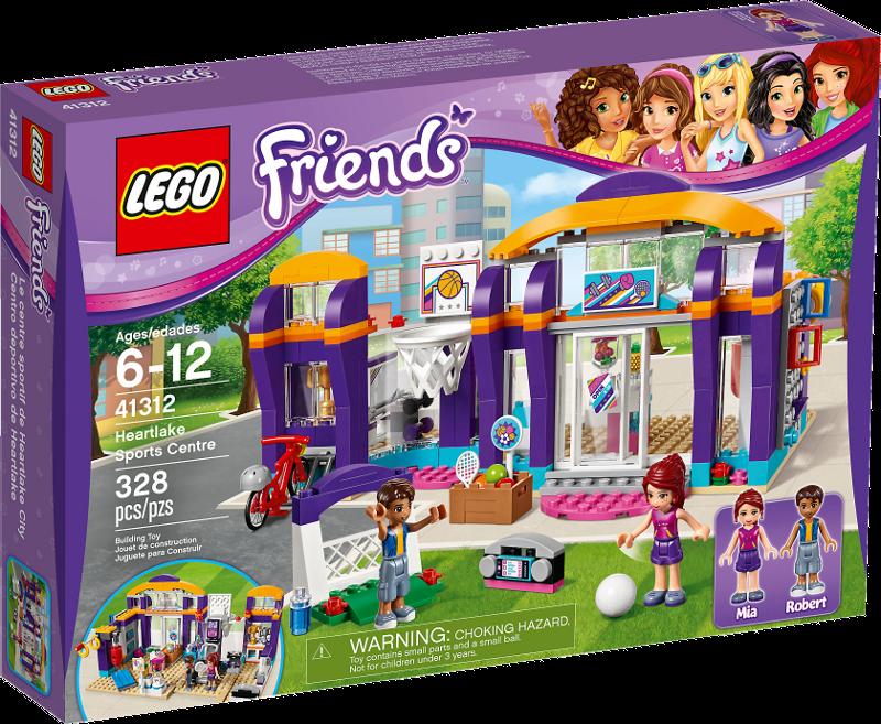 LEGO® Friends 41312 - Heartlake Sportzentrum
