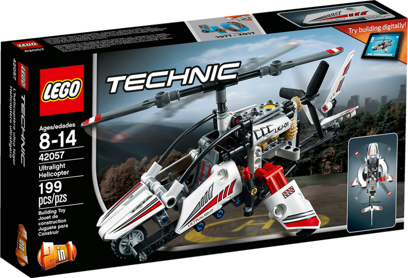 LEGO® Technic 42057 - Ultraleicht-Hubschrauber