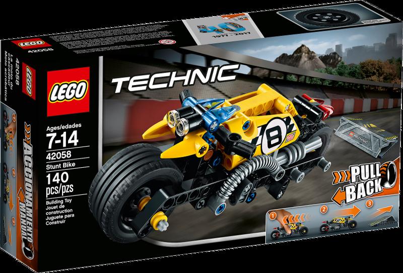 LEGO® Technic 42058 - Stunt-Motorrad