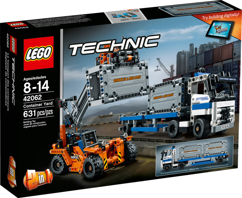 LEGO® Technic 42062 - Container-Transport